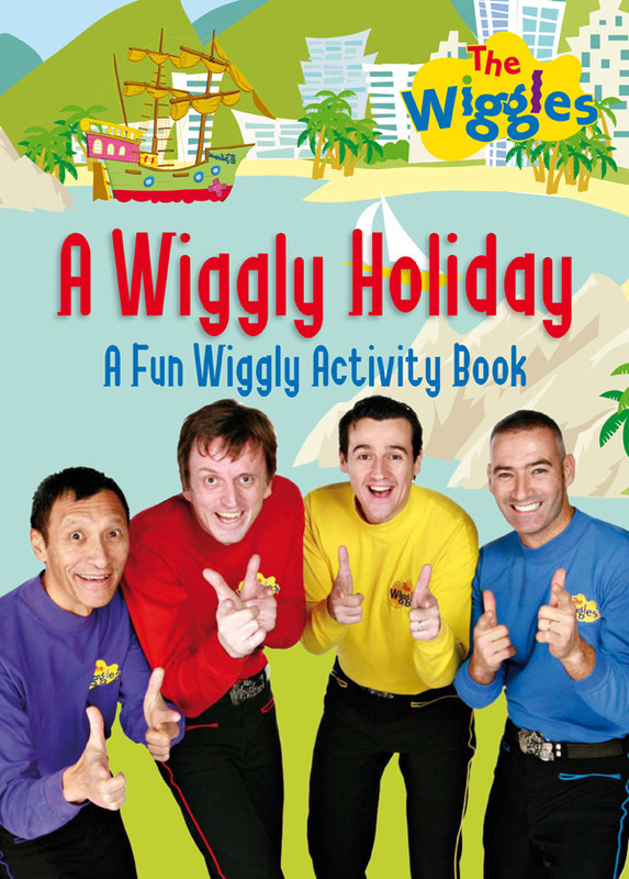 The Wiggles: A Wiggly Holiday - Activity Book