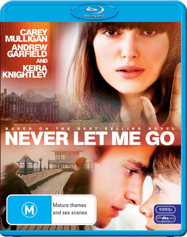 Never Let Me Go on Blu-ray