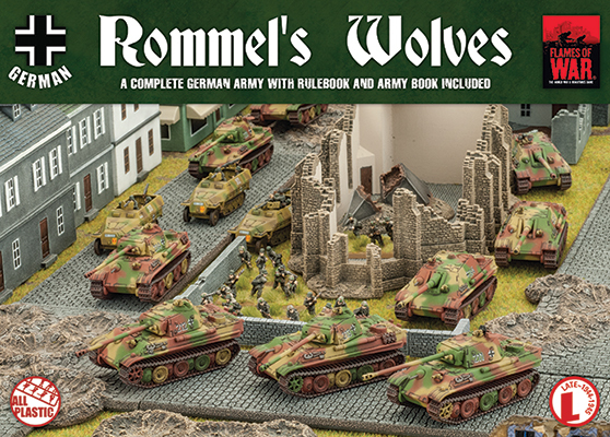 Flames of War Rommel's Wolves