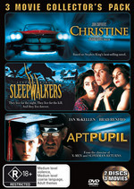 Christine / Sleepwalkers / Apt Pupil - 3 Movie Collector's Pack (2 Disc Set) on DVD