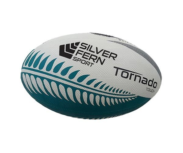 Silver Fern Tornado Touch Rugby Ball (Size 4)