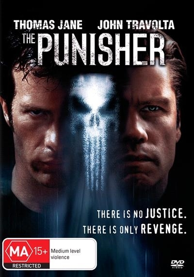The Punisher (2004) on DVD image