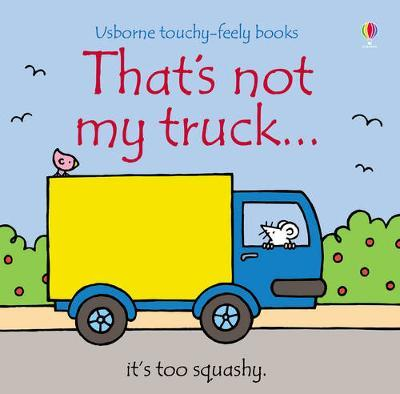 That's Not My Truck by Fiona Watt image