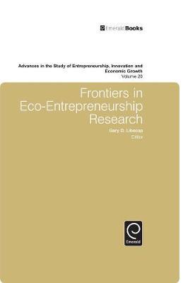 Frontiers in Eco Entrepreneurship Research