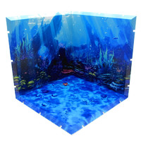 Dioramansion 150: Seafloor - Figure Display Base