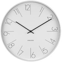 Karlsson Alarm Clock - Elegant Numbers (White)