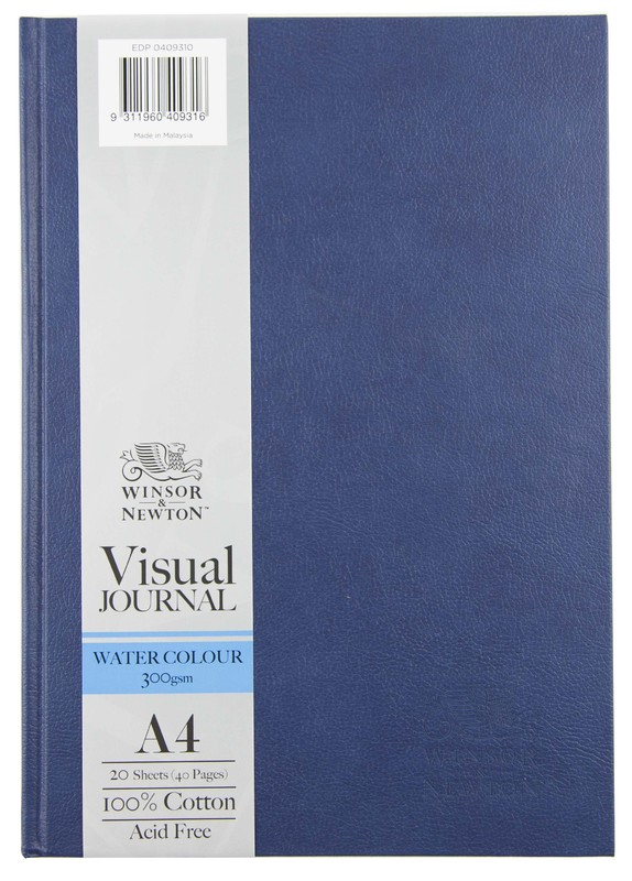 Winsor & Newton: Hardbound Watercolour Journal - A4 (300gsm)