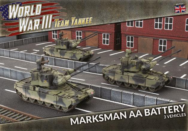 Team Yankee: Chieftain Marksman AA Battery