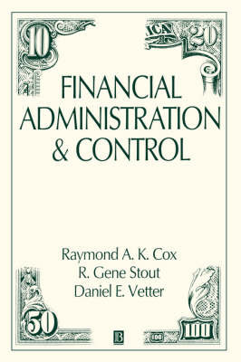 Financial Administration and Control by R.A. Cox image