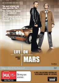 Life On Mars - Series 1 (UK) Collectors Edition (4 Disc Set) on DVD