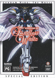 Gundam Wing - Endless Waltz on DVD