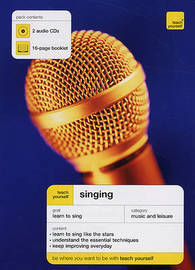 Teach Yourself Singing by Rick Guard image