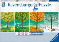 Ravenburger - Four Seasons Puzzle (500pc)