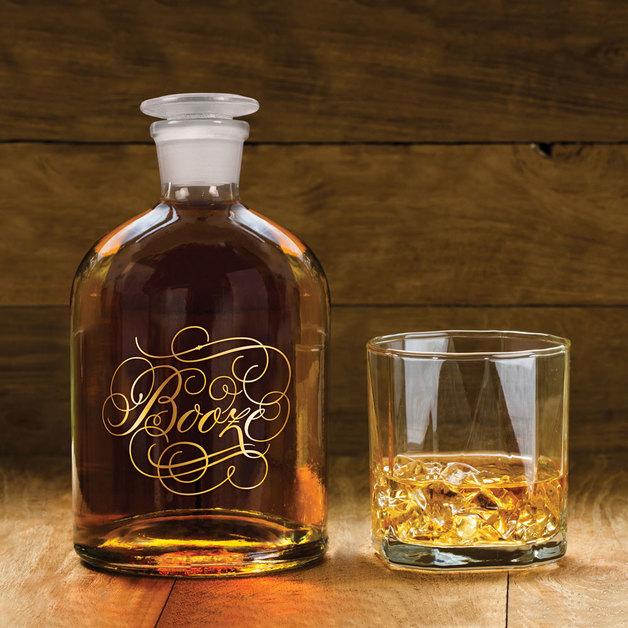 Bottled Up Decanter - Booze
