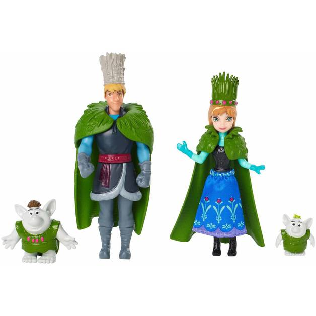 Disney Frozen Troll Wedding Small Doll Set
