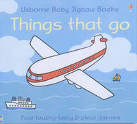 Usborne First Jigsaw Books Things That Go image