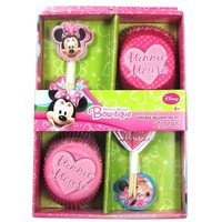 Minnie Mouse Bow-tique Cupcake Decorating Kit