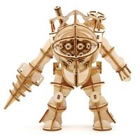 Incredibuilds: Bioshock: Big Daddy 3D Wood Model
