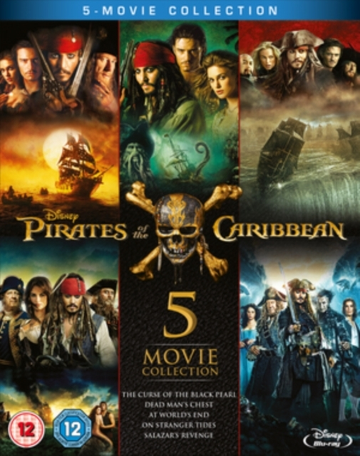 Pirates of the Caribbean: 5-movie Collection on Blu-ray