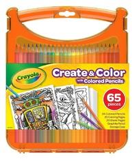 Crayola: Create & Colour - Coloured Pencils Kit