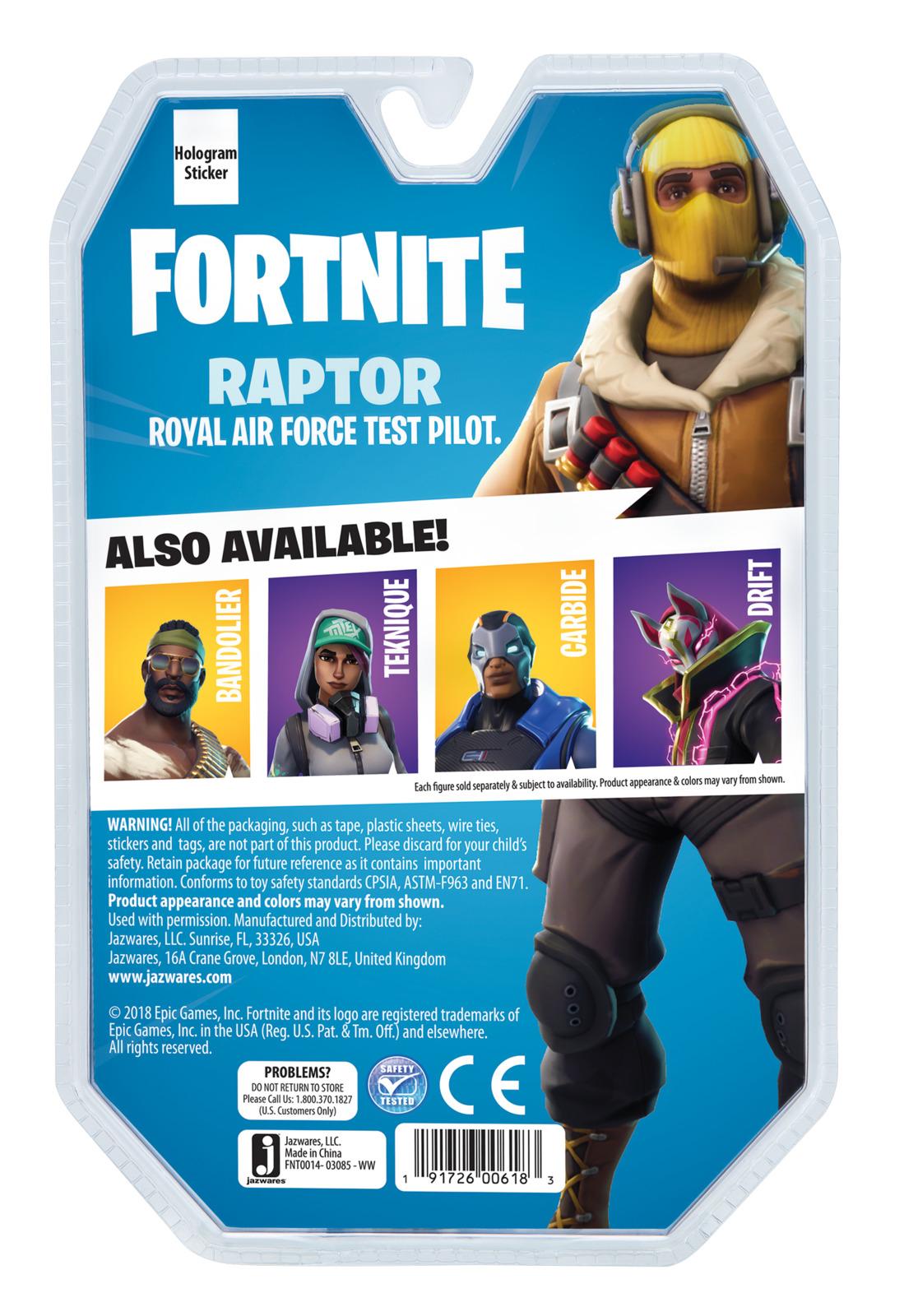 """Fortnite: Raptor - 4"""" Action Figure image"""