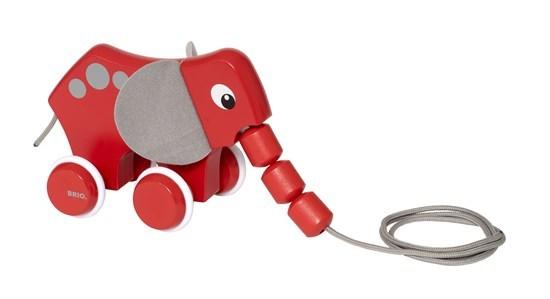 Brio - Pull Along Elephant
