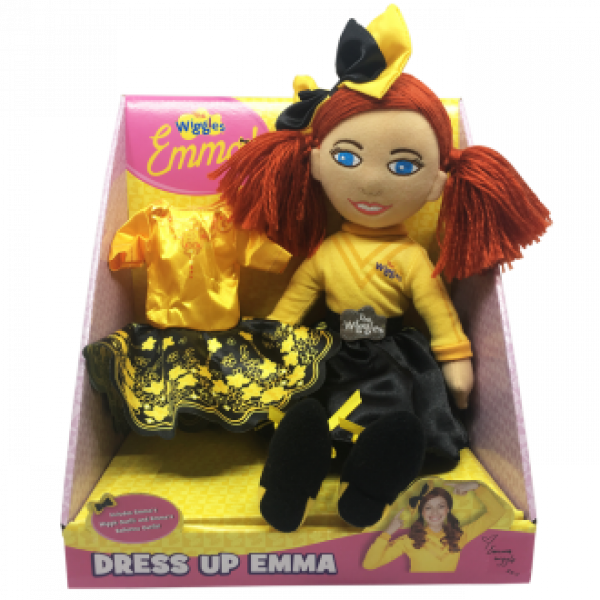 The Wiggles: Dress Up Emma - 40cm Plush