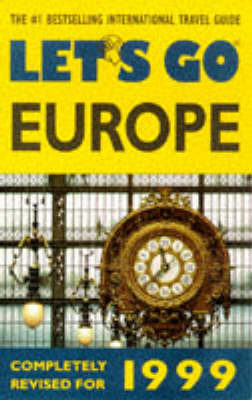 Let's Go Europe 1999 by Let's Go image