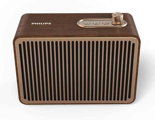 Philips: Vintage Bluetooth Portable Speaker