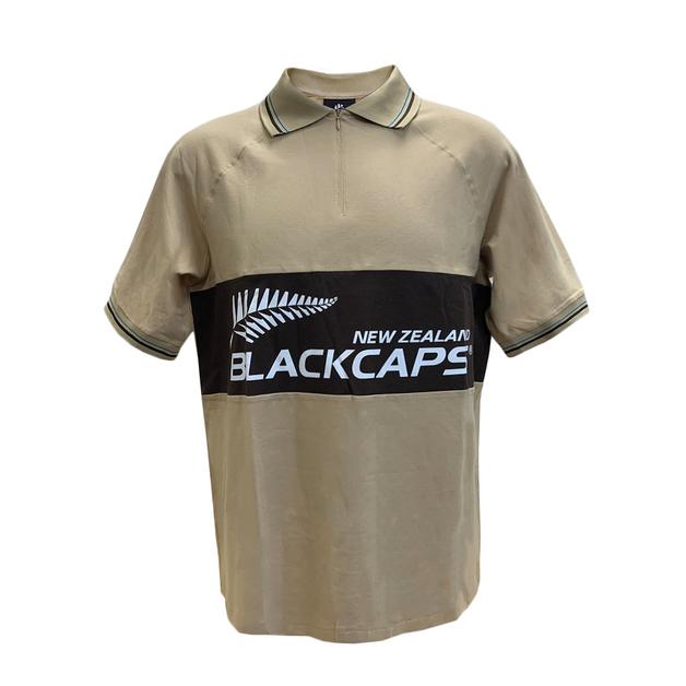 Blackcaps Raglan Rib Logo Polo (Small)
