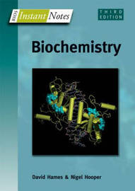 BIOS Instant Notes in Biochemistry by David Hames image