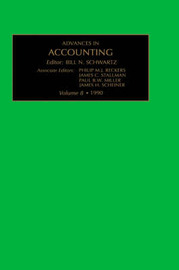 Advances in Accounting: v. 8