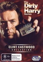 Dirty Harry Series, The (Clint Eastwood Collection) (5 Disc Set) on DVD