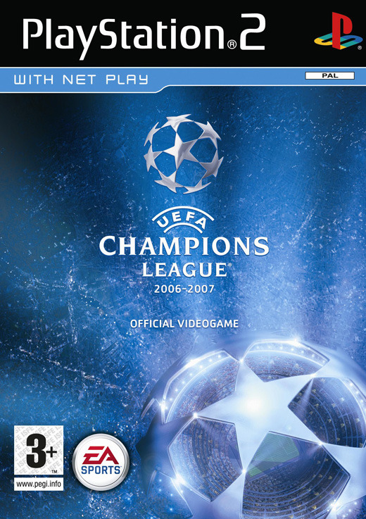 UEFA Champions League 07 for PlayStation 2