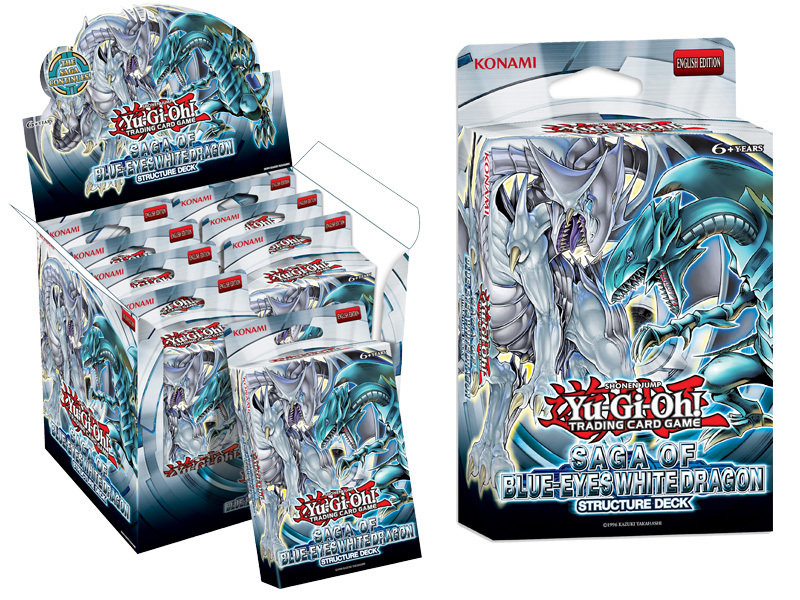 Yu-Gi-Oh TCG Structure Deck: Saga of the Blue Eyes White Dragon image