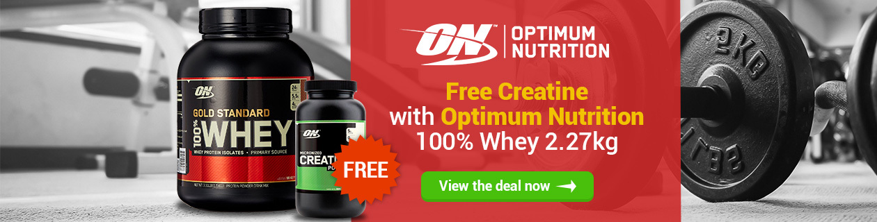 100% Whey with free Creatine!