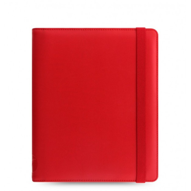 Filofax Metropol Elastic Large Tablet Cover - Red