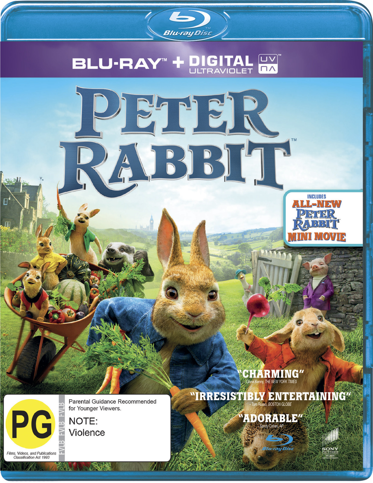 Peter Rabbit on Blu-ray image