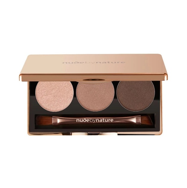 Nude By Nature: Eyeshadow Trio - #01 Nude