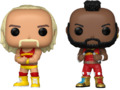 WWE: Hulk Hogan & Mr. T - Pop! Vinyl 2-Pack