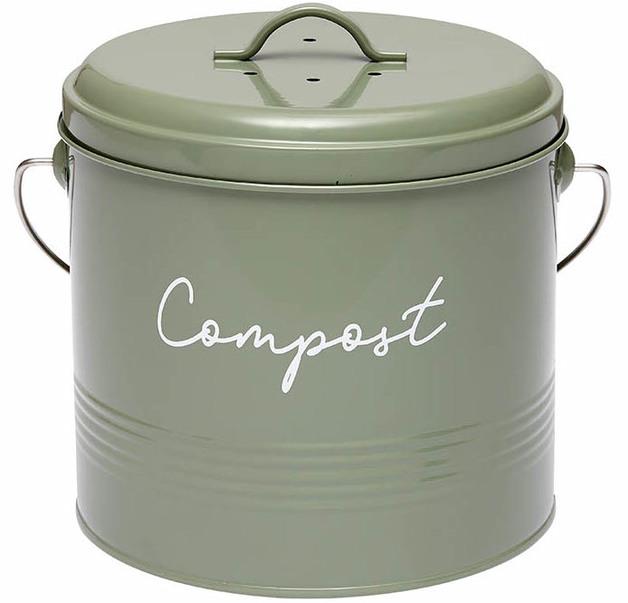 Ladelle: Eco Compost Bin - Sage