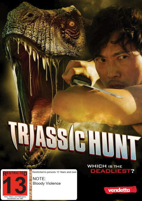Triassic Hunt on DVD