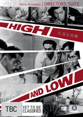 High And Low (Directors Suite) on DVD