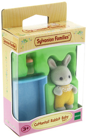 Sylvanian Families: Cottontail Rabbit Baby - Yellow Charlie