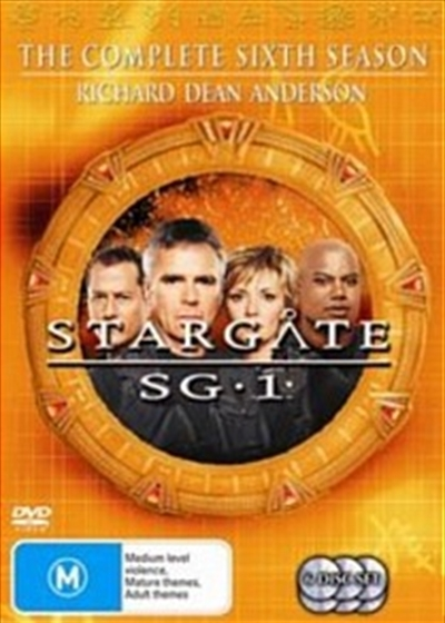 Stargate SG-1 - Season 6 (6 Disc Set) (New Packaging) on DVD image