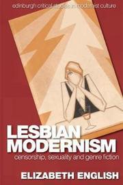 Lesbian Modernism by Elizabeth English