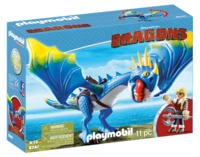 Playmobil: How to Train Your Dragon - Astrid & Stormfly Playset (9247)
