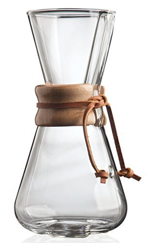 Chemex: 3-Cup Classic Glass Coffee Maker image