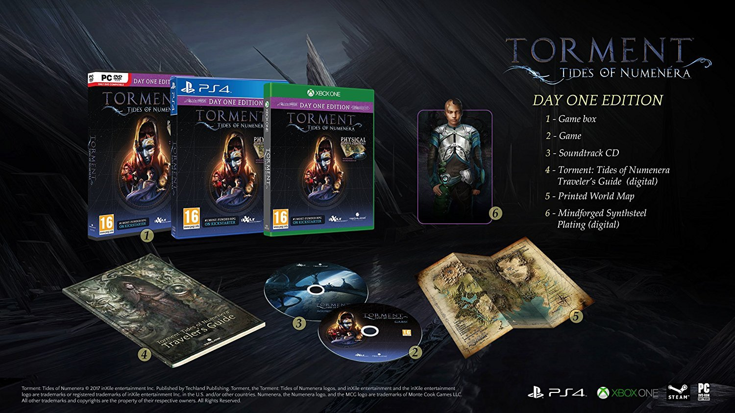 Torment: Tides of Numenera Day One Edition for PS4 image