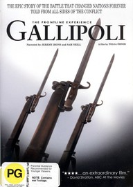 The Gallipoli: Front Line Experience on DVD image